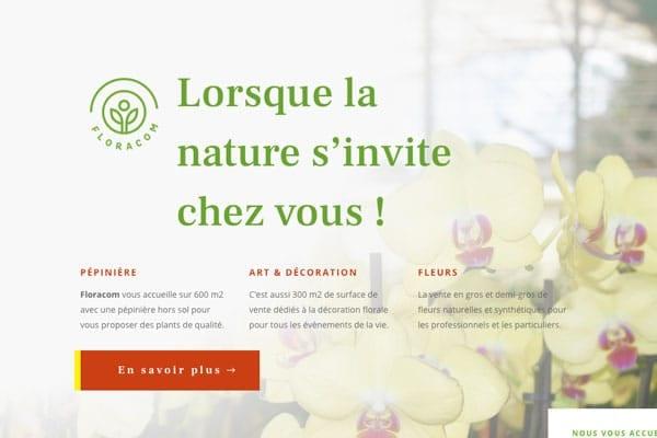 Lancement du nouveau site web de Floracom