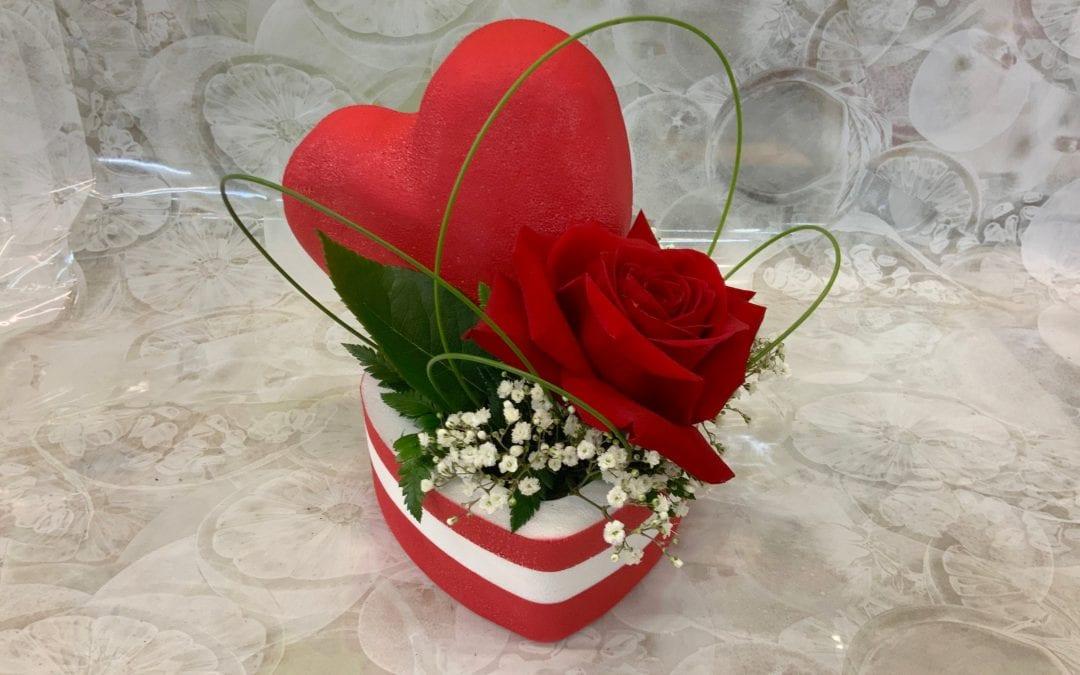 Pour la Saint-Valentin, Floracom se plie en 3 !